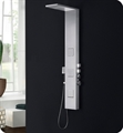 Fresca FSP8011BS Modena Stainless Steel Thermostatic Shower Massage Panel in Brushed Silver