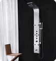 Fresca FSP8012BS Palermo Stainless Steel Thermostatic Shower Massage Panel in Brushed Silver