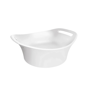 "Hansgrohe 11301000 Axor Urquiola 14 1/4"" Small Vessel Bathroom Sink in White"