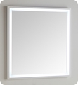 "Fresca Platinum FPMR7832WH Due 31"" Bathroom Mirror with LED Lighting in Glossy White"