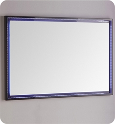 "Fresca Platinum FPMR7848CB Due 47"" Bathroom Mirror with LED Lighting in Glossy Cobalt"