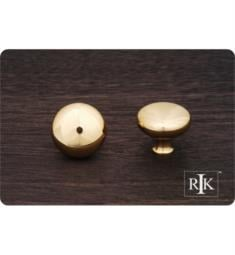 "RK International CK-1118 1 1/4"" Thin Mushroom Cabinet Knob"