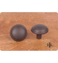 "RK International CK-711 1 3/8"" Distressed Mushroom Cabinet Knob with Ring Edge"