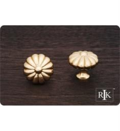 "RK International CK-3248 1 1/2"" Large Melon Cabinet Knob"