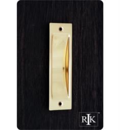 "RK International CF-5631 4 1/2"" Thin Rectangle Flush Cabinet Cup Pull"
