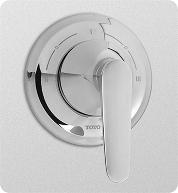 TOTO TS230X#PN Wyeth™ Three-Way Diverter Trim with Off With Finish: Polished Nickel