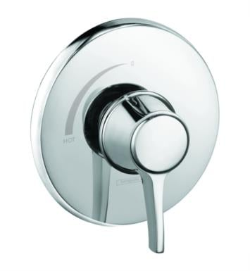 "Hansgrohe 15404831 Metris C 6 3/4"" Pressure Balance Trim With Finish: Polished Nickel"