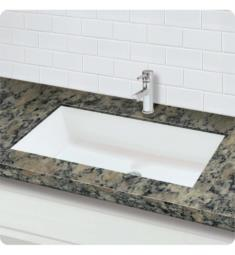 "Decolav 1839-48-SSA Solid Surface 48"" Rectangular Undermount Lavatory"