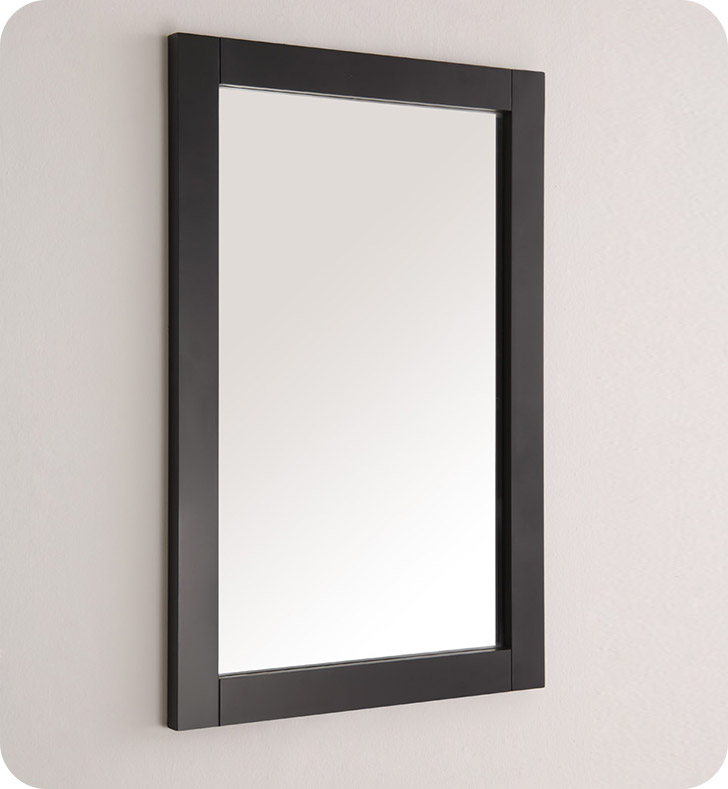 "Fresca FMR2302BL Hartford 20"" Black Traditional Bathroom Mirror"
