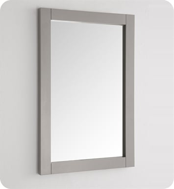 "Fresca FMR2302GR Hartford 20"" Gray Traditional Bathroom Mirror"