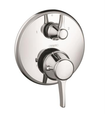 "Hansgrohe 15752921 Ecostat C 6 3/4"" Thermostatic Trim with Volume Control With Finish: Rubbed Bronze"
