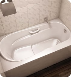 "BainUltra BAMFRB00 Amma 6036 60"" x 36"" Drop-In or Alcove Customizable Bath Tub"