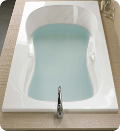 "BainUltra BAZLRB00 Azur 55 66"" x 36"" Customizable Bath Tub"