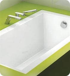 "BainUltra BOODRI Origami 6032 60"" x 32"" Customizable Bath Tub"