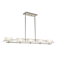 Kichler 42018 Suspension Collection Chandelier Linear 5 Light Halogen
