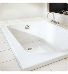 "BainUltra BMEDRI0 Meridian 6032 60"" x 32"" Customizable Bath Tub"