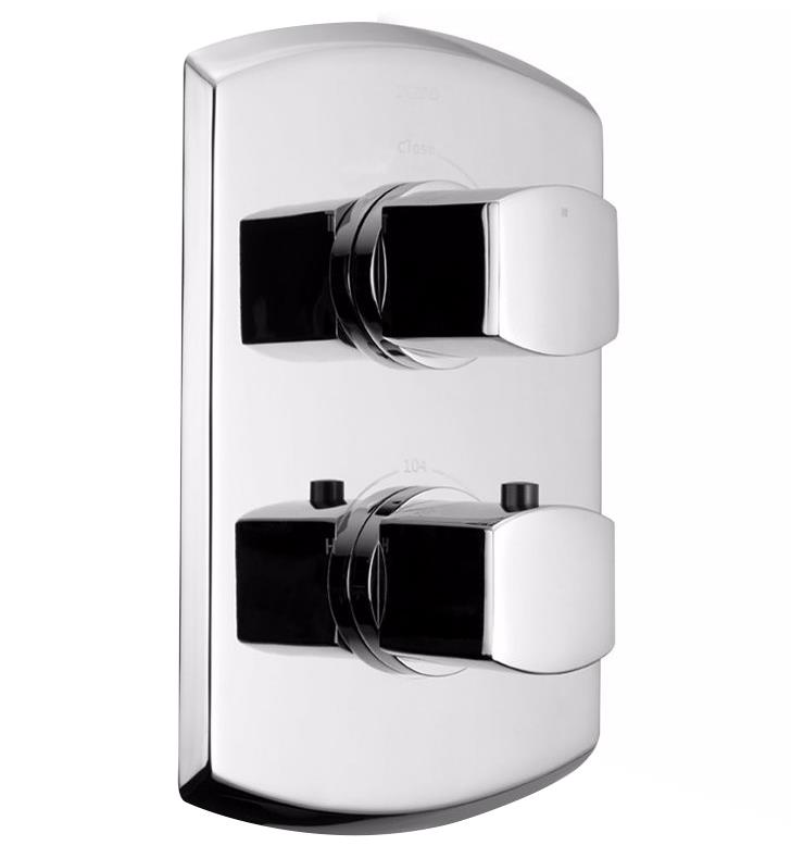 "TOTO TS960C Soiree 6 3/4"" Thermostatic Mixing Valve Trim with Single Volume Control"