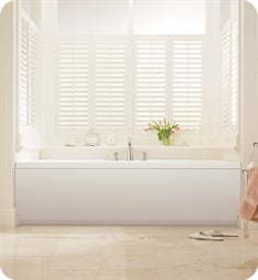 "BainUltra BELN Elegancia 6642 66"" x 42"" Customizable Bath Tub"