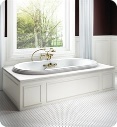 "BainUltra BELS Elegancia 72"" Customizable Bath Tub"