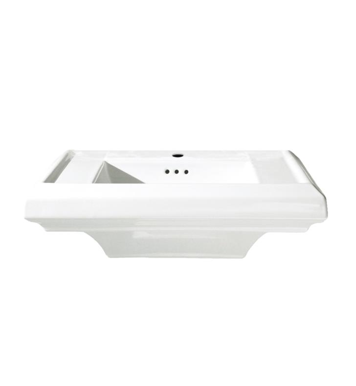 American Standard 0790008.020 Town Square Sink Top With Faucet Holes ...