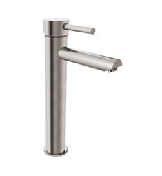 Fresca FFT1041BN Tolerus Single Hole Vessel Mount Bathroom Faucet in Brushed Nickel