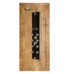 Pulse 1015-2 Makena II Shower Panel in Black