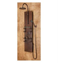 Pulse 1016 Mojave Shower Panel in Hammered Copper Finish