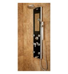 Pulse 1022-B Leilani Shower Panel in Black Finish