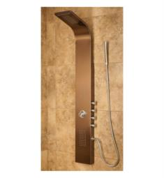 Pulse 1033 Santa Cruz Shower Panel in Bronze Finish