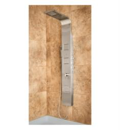 Pulse 1034 Waimea Shower Panel in Matte Stainless Steel Finish
