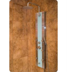 Pulse 1039W-BN Tropicana Shower Panel in Brushed Nickel Finish