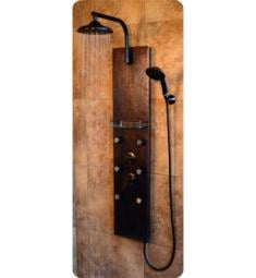 Pulse 1041 Sedona Shower Panel in Hammered Copper Finish