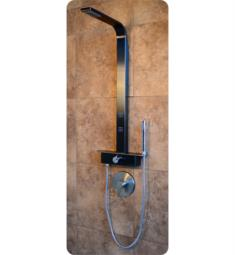 Pulse 1051-G Pacifica Retrofit Shower System in Gray Stainless Steel