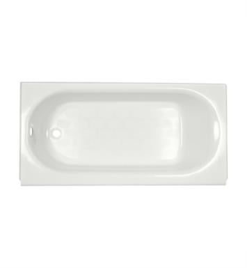 American Standard 2394202.021 Princeton 60 Inch by 34 Inch Integral Apron Bathtub Left Hand Outlet with Luxury Ledge With Finish: Bone