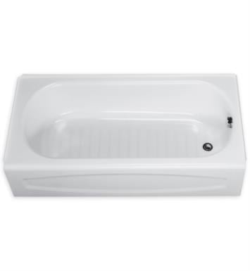 American Standard 0255112.222 New Salem 60 Inch by 30 Inch Integral Apron Bathtub With Finish: Linen And Outlet: Right Hand Outlet