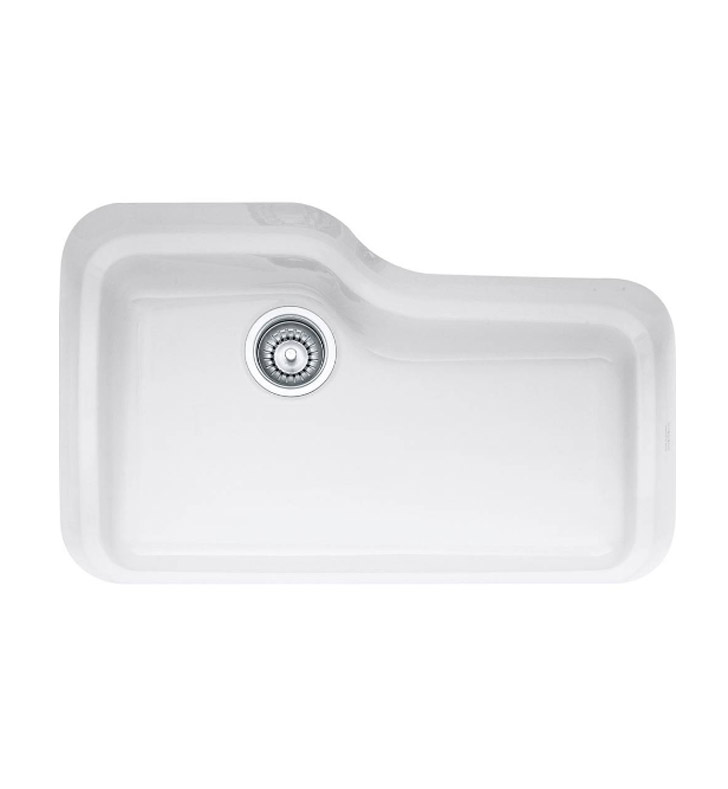 "Franke ORK110WH Orca 29 7/8"" Single Basin Undermount Fireclay Kitchen Sink"