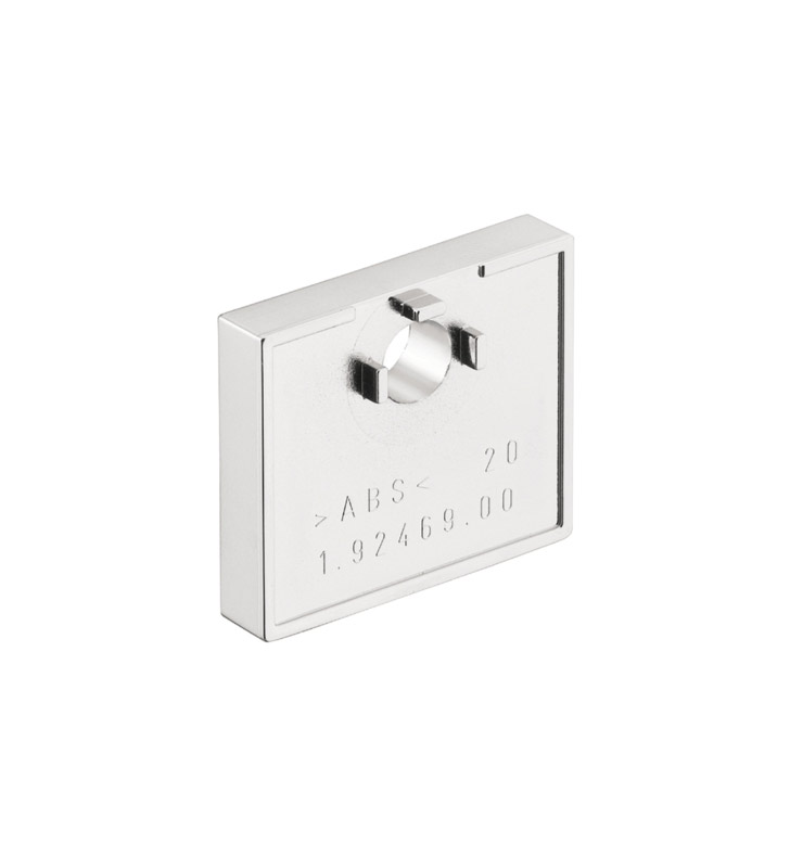 Hansgrohe 28697820 Raindance Wallbar Tile Spacer in Brushed Nickel