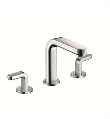 "Hansgrohe 31067 Metris S 5 1/8"" Double Handle Widespread/Deck Mounted Bathroom Faucet with Pop-Up Assembly"