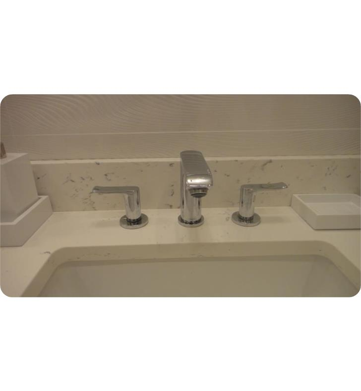 Hansgrohe 31083001 Metris 100 6 Double Handle Widespreaddeck