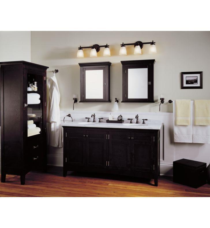 delta 75035 pb victorian double robe hook with finish Delta Bathroom Faucet Parts Delta Sink Faucets Bathroom