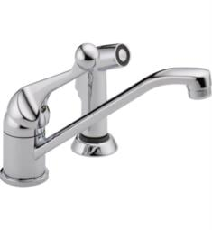 Delta 175LF-WF Classic Single-Handle Side Sprayer Kitchen Faucet in Chrome