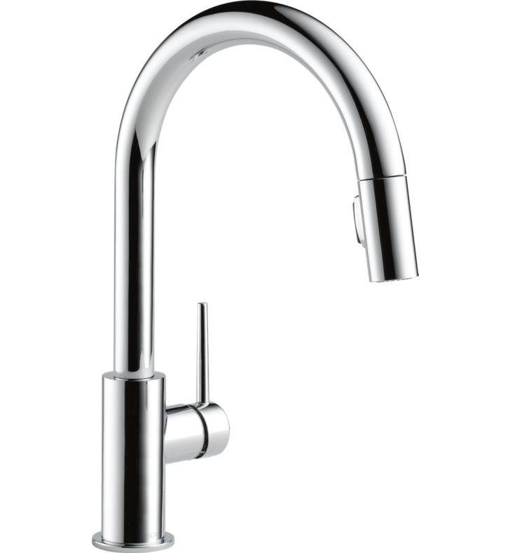 Delta 9159 Trinsic Single Handle Pull-Down Kitchen Faucet