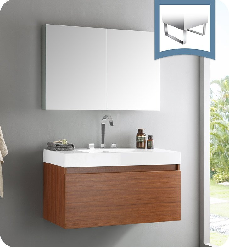 bathroom vanity with medicine cabinet fresca fvn8010tk mezzo modern bathroom vanity with 11820