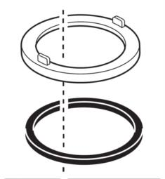 Delta RP70715 Deluca Trim Ring and Gasket