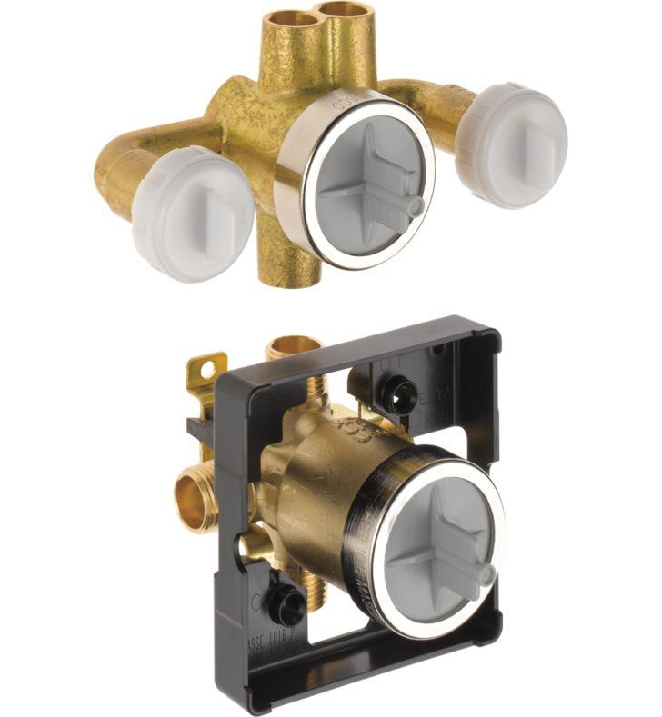 Delta R18000-XO Delta Jetted Shower 6-Setting Rough-In Valve with ...
