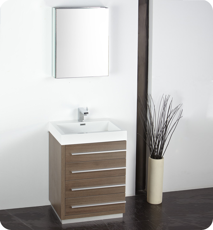 bathroom vanities and medicine cabinets fresca fvn8024go livello 24 quot modern bathroom vanity with 22461