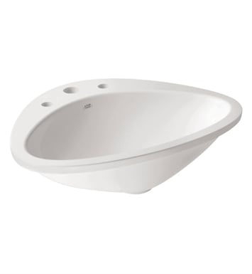 Hansgrohe 42313000 Axor Massaud 3 Hole Drop In Sink