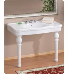 "Cheviot 710-WH-8 Astoria 36"" Single Bowl Console Sink in White"
