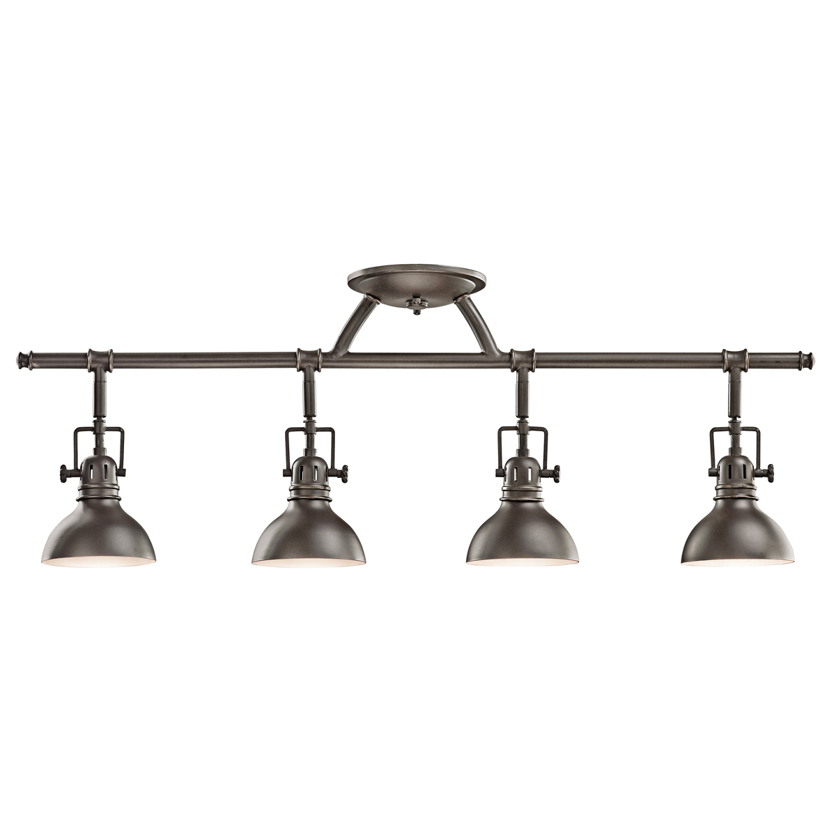 Kichler 7704OZ Fixed Rail 4 Light Halogen With Finish: Olde Bronze