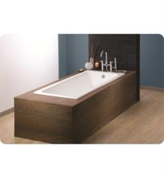 "Cheviot 2187-WU-FT Drop In 59"" Cast Iron Free Standing Soaking Bathtub"